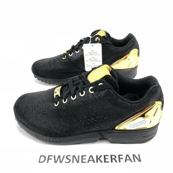 adidas originals zx flux gold
